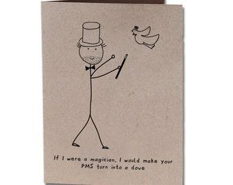 Thank You Humor Greeting Card Magician