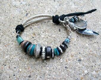 The Sound of the Sea Tribal Gypsy Bracelet