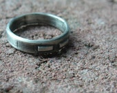 Small Industrial Silver Band