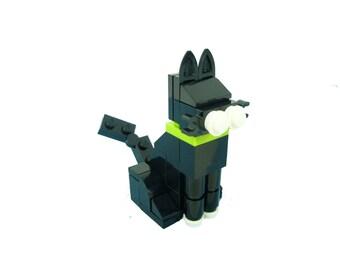 Black Kitty Cat Building Kit