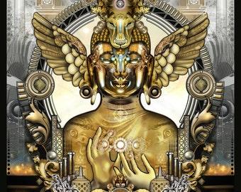 The Way of the Golden Elixir - Paper Print - 11x17