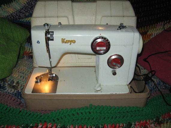 koyo sewing machine manual