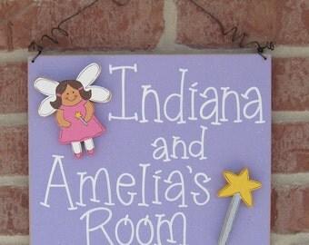 Custom Personalized Name or Room sign for children, home, desk, shelf, decor