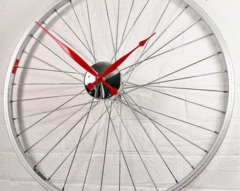 Bicycle Wheel Clock for Stephanie