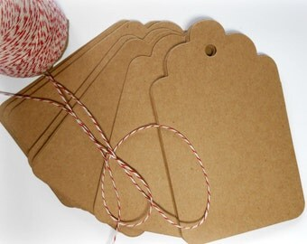 Extra Large Kraft Tags 75 ct.
