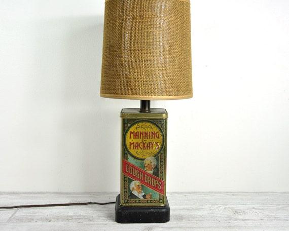 Vintage Tin Lamp