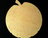 Pumpkin/ Apple Mosaic Wood Base MDF Board/ Fall Craft Supplies/ Halloween