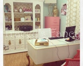 Couture - Custom Desk & Hutch Made to Order