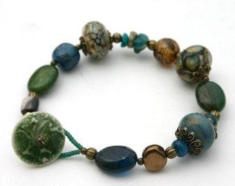 Her Green Bracelet