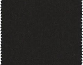 Black Magic Solid Black 100% Cotton Quilt Fabric Blender for Sale, May Wood Studios, Fat Quarter, Yardage