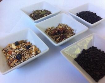 6  THERAPEUTIC HERBAL Tea Samples