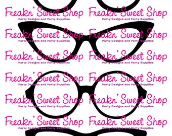Glasses Photo Props PDF file