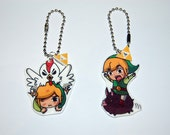 The Legend of Zelda Link Keychain / Phone Charm