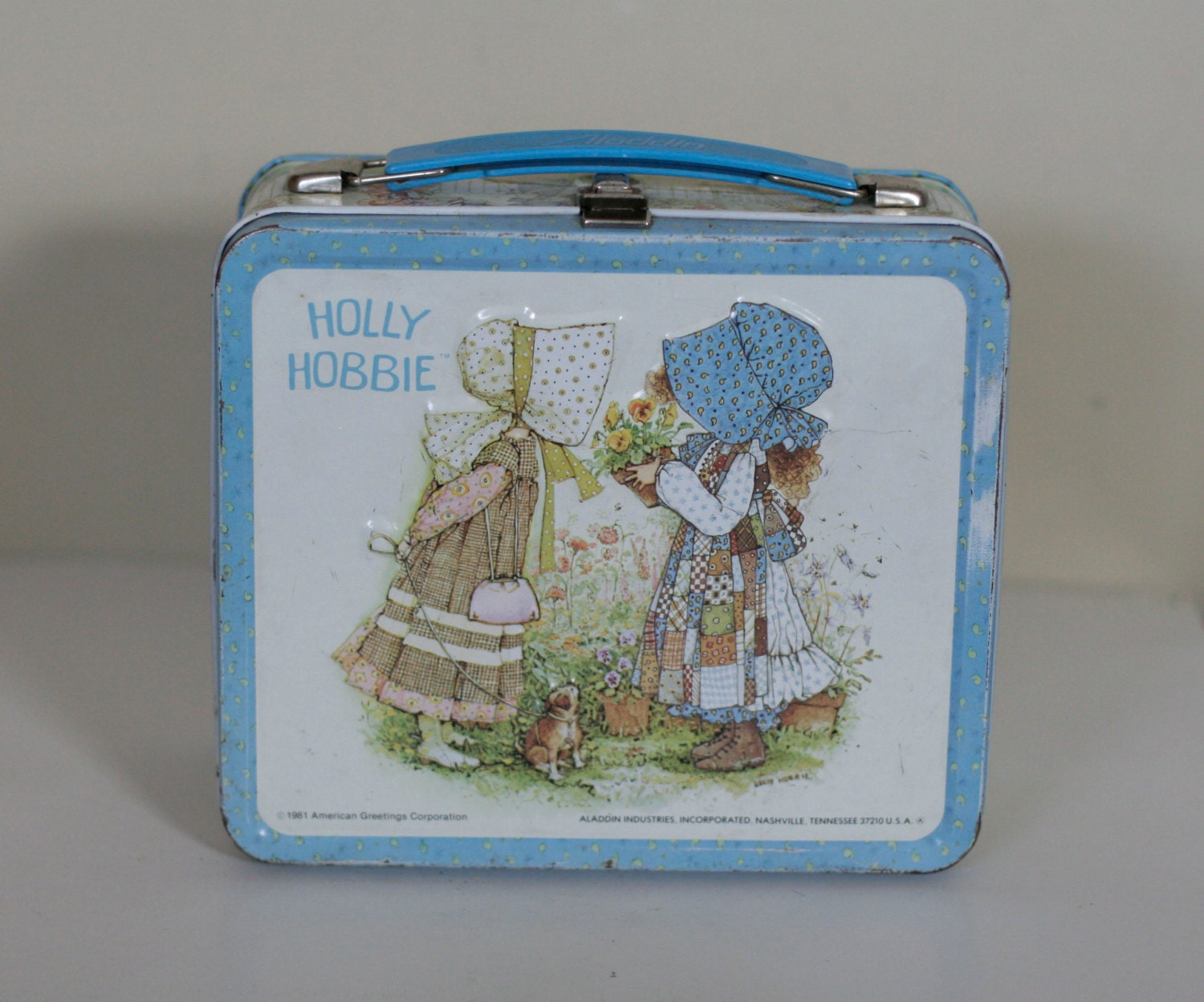Vintage Holly Hobby Lunch Box 1981