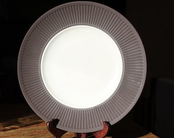 Reduced: Dansk Fluted Flamestone Dinner Plate, Jens quistgaard, One Plate Only