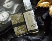 Antiguo Natural Perfume Oil Vial Sample Gardenia,Amber,Carnation, Rose, Spikenard, Labdanum, Jasmine,