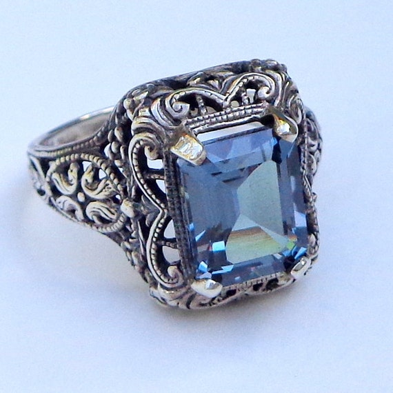 Vintage Alexandrite Rings Alexandrite Rin...