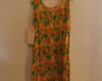 1960's Cotton Shift Dress