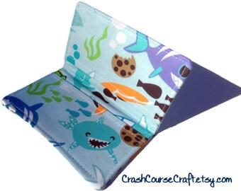 Card Wallet - Cookie Shark Week - business card holder, credit card holder, gift card holder