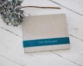 Custom Photo Albums, Beautiful Personalized Photo Books - Velvet Sash design by ClaireMagnolia