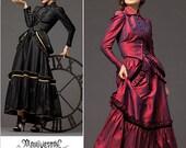 Sz 6/8/10/12 - Simplicity Costume Pattern 2207 - Misses' Steampunk Jacket, Skirt & Bustle