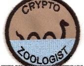 Cryptozoologist Geek Merit Badge Patch