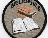 Bibliophile Geek Merit Badge Patch
