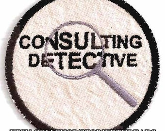 Sherlock Holmes Consulting Detective Patch