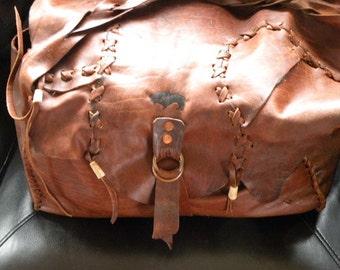 Buffalo leather bag siut case