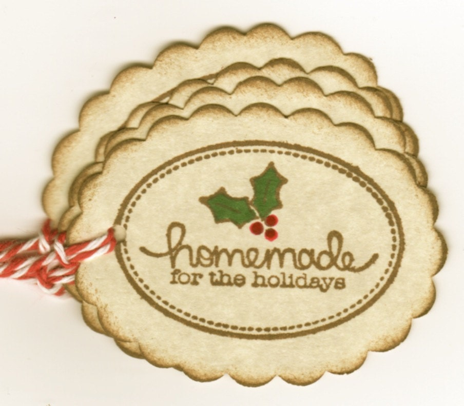 Baked Christmas Gifts: Christmas Tags For Baked Goods Christmas Gift Tags For