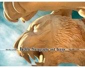Detroit Tiger Comerica Park Statue photograph