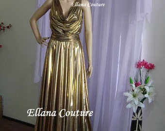 Vanessa - Stunning Retro Glam Bridal or Evening Gown.