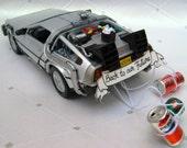 Delorean Back To the Future Part II getaway cake topper