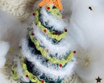 Crochet Christmas Tree Decor, Christmas Crochet Ornament, Christmas Home Decor, Crochet Amigurumi Toy, Crochet Cristmas Decoration, Festive
