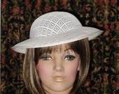 Wide Brim Hat Frame Church Hat Bridesmaid Hat Bridal Hat Buckram Hat Base Hat Form Millinery Supply