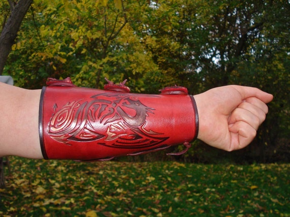Archery Arm Guard Tooled