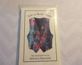 Vest Pattern by Bethany Reynolds, Wearable Art,  Unused