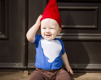 Gnome Halloween Costume, Kids Halloween Costume (onesie and hat only) Beard Costume, Woodland Baby, Funny Halloween Costume