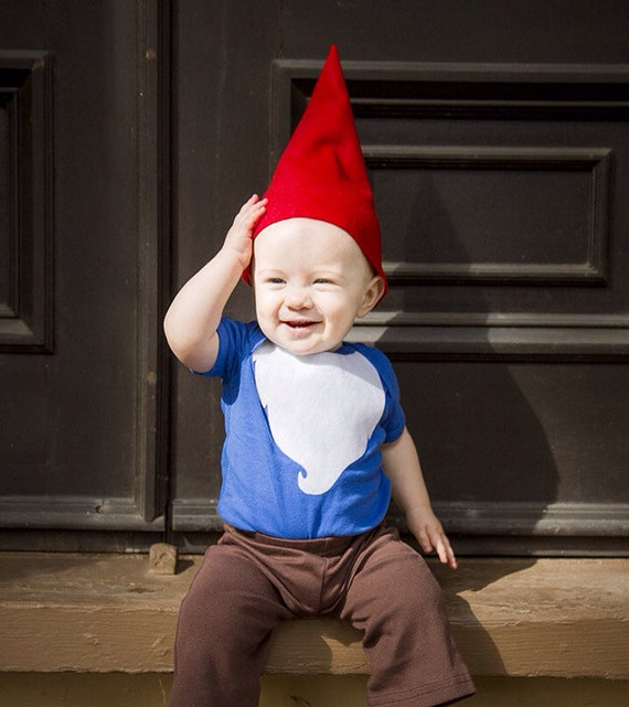 Gnome Halloween Costume Kids Halloween Costume onesie and