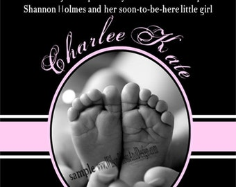 10 Perfect Fingers, 10 Perfect Toes Baby Shower Invitation for BOY or GIRL