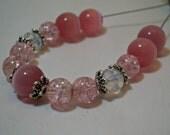Custom Pink Medical Alert Bracelet