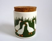 Waechtersbach  Lidded Jar Canister Duck Design