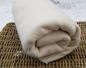 SALE Sweatshirt Fleece Fabric, Ecru, Black Friday, 4 yards for USD 10