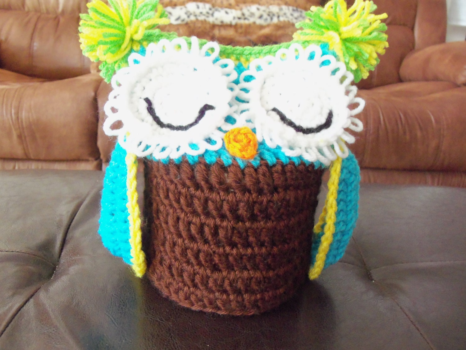 Crochet Owl Toilet Tissue Roll Cover 2 by WolfArtStudio on ...
