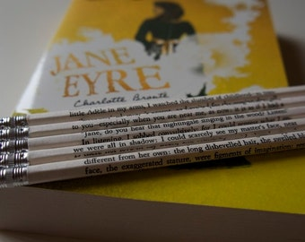 Jane Eyre Wrapped Pencil Set
