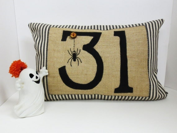 Halloween Spider Kidney Pillow