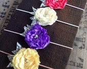 Buttercup blossom band set of 4