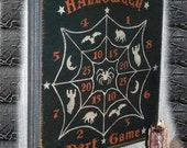 Halloween Dart Game, Folk Art, Halloween, Pine Wall Sign