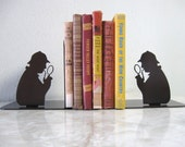 Sherlock Holmes, Detective, Investigator, Metal Bookends