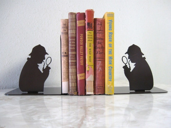 Sherlock Holmes Bookends | Sherlock Gift Guide